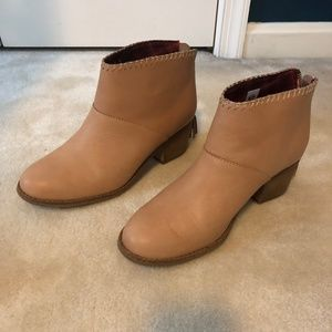 TOMS women's leather booties